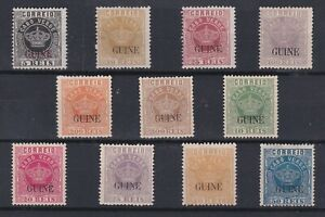 Portugal - Portuguese Guine Crown Nice Lot MH