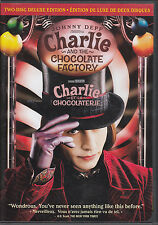Charlie and the Chocolate Factory - 2 DVD Deluxe Edition - Has Trading Cards !!