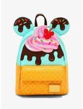 Loungefly Disney Minnie Mouse Sweets Ice Cream Mini Backpack
