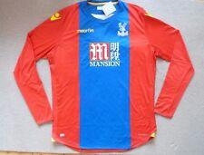 Jugadores Ajustada Crystal Palace Camiseta de Fútbol Fino Corte Tamaño: UK 4xl /