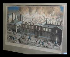[Vue d'optique :] Vue du feu prit [sic] à la salle de l'Opéra de Paris en 1763.