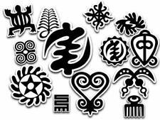 Adinkra Symbol Vinyl Afrocentric Stickers Decal