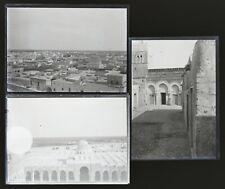 Tunisie 1897 lot de 17 NEGATIFS sur plaques de verre 6X9