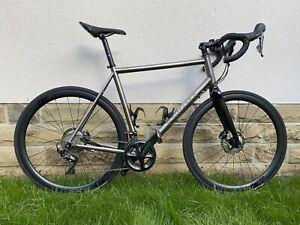 Enigma Evoke Titanium Road Bike (59cm)