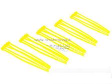 FASCETTE CABLAGGIO PLASTICA NYLON COLORATE GIALLE CABLE TIES 25 PZ 100 mm HIMOTO