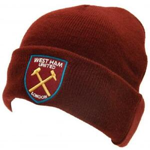 West Ham FC offizielle Strick-Beanie M/ütze