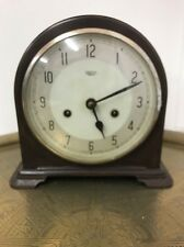 Vintage 1950-60s Smiths Enfield Bakelite Windup Chiming Clock, Needs Attention.