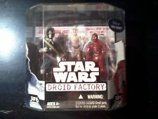 2008 Hasbro Star Wars Droid Factory 3 of 6 Han Solo/R-3P0 Walmart Exclusive New