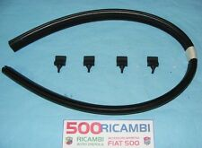 FIAT 500 F/L/R EPOCA KIT 1 GUARNIZIONE COFANO MOTORE + 4 PZ. GOMMINI PARACOLPO