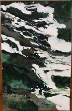 Tableau Moderne Expressionnisme  La Source Peinture signée J C Bertrand Né 1928