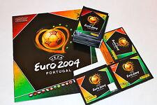 Panini EM EC Euro 2004 04 – Box Display m/w 50 Tüten packets sobres + ALBUM TOP!