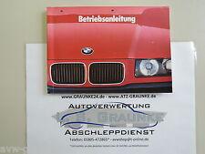 Betriebsanleitung Handbuch BMW 3er(E36) 316i 318i 320i 325i 01409786810  DEUTSCH