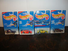 Hot Wheels--Lot Of 4--Enforcer #461--GT Racer #468--Buick #472--VW #474--Lot #21