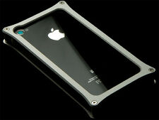 Abee Aluminum Jacket For iPhone 4 Type 03 Silver