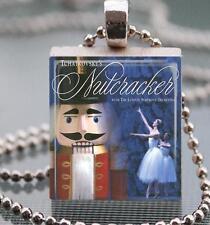 Nutcracker Ballet Custom Scrabble Tile Pendant Recycled Game Tile Jewelry