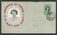 NIGERIA # 79 QUEEN ELIZABETH II, ROYAL CORONATION First Day Cover