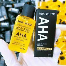 ORIGINAL 100% MIMI WHITE AHA SERUM with Box & Code (30 ML) Made in Thailand!