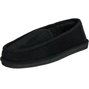 [NEW] CLOVERLAY Men's House Slippers Corduroy Moccasin Slip-on Men Indoor Shoes