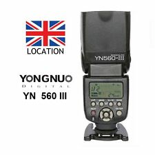 YONGNUO YN-560 III Wireless Speedlite Flash fr Camera Canon Nikon Sony Pentax UK