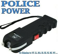 VIPERTEK High Voltage Self Defense Stun Gun w/LED Light + taser case