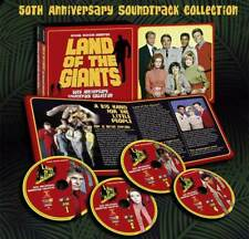 Land Of The Giants 50th Anniversary Soundtrack 4CD Set 19CDL90