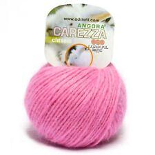 Adriafil Carezza Angora Aran Yarn / Wool 25g - Fuchsia (83)