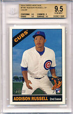 ADDISON RUSSELL 2015 TOPPS HERITAGE COLOR SWAP VARIATION BGS 9.5 ROOKIE RC GEM !