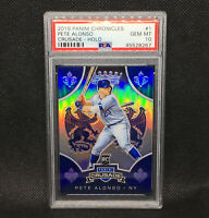 PSA 10! 🚨2019 CRUSADE PRIZM PETE ALONSO RC HOLO New York Mets Rookie #1
