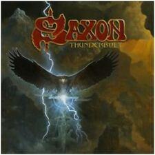 Saxon - Thunderbolt - New Box Set (LP/CD/Cass + Pin)