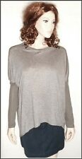 All Saints New Without Tags Wool Mix Open Elbow Long Sleeve Top  size S