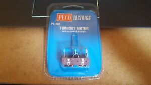 OO GAUGE Peco Lectrics PL-10 Turnout Motor Switch machine PL-10E extended PL-10W