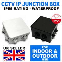 Weatherproof Outdoor Junction Box,Adaptable Box IP66 CCTV etc Waterproof Joint