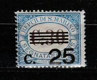 S37570 San Marino MNH 1938 Postage Stamps c.25 Su c.30 1v Saxon 48