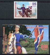 Dominikanische Republik 2013 General Luperon Reiter Pferd Flaggen Postfrisch MNH
