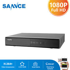 SANNCE 8CH HD 1080N 5in1 HDMI P2P DVR for CCTV Security Camera System APP Alarm