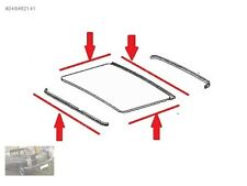 Mercedes W123 COUPE Sunroof Seal Gasket Set NEW FREE SHIPPING