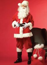 Beautiful deluxe quality Santa Claus/Father Christmas  costume. Handmade in U.K.
