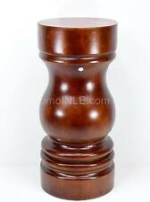 PILON DE MADERA TALLADO CARVED WOOD PEDESTAL PESTLE CHANGO ORULA CHRY05PL