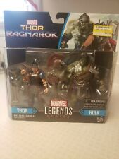 "Marvel Legends Series Thor Ragnarok, THOR and HULK 3.75"" Action Figure Set New"