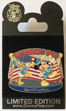 Disney WDW Veteran's Day 2006 Mickey Mouse & Donald Duck Pin