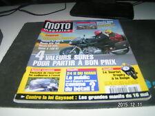 *** Moto Magazine n°148 Kawasaki VN 1500 Tourer / Honda 650 Deauville