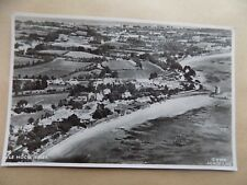 Le Hoco Jersey Aerial View Beach sea Town Vintage Old Unposted Postcard c