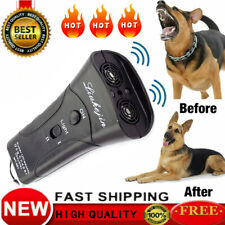 Anti Dog Barking Ultrasonic Pet Trainer Super Dog Chaser LED Light Petgentle