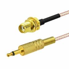 Eightwood RG316 SMA Buchse to 3.5mm Stecker RF Koaxial Verlängerung Kabel 30cm