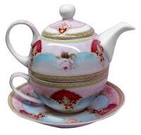 "Russian Caravan Tea For One 3 piece Set  ""Josephine"" - AU Shop"