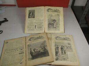 1898 ILLUSTRATO EMILIO SALGARI RIVISTA MONDO PICCINO ANNATE LETTERATURA INFANZIA
