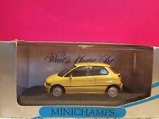 MINICHAMPS SUPERBE BMW E1 JAUNE  1/43 NEUF BOITE D4