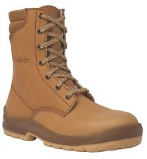 SIZE 7 JALLATTE JALOSBERN J0662 TALL HIGH LACE UP jalaska SAFETY TOE BOOTS J0662