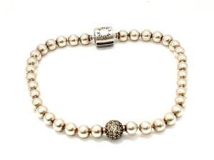 Pandora Kugel & Pavé Armband 17 cm Purely Collection