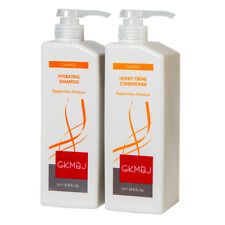 GKMBJ Hydrating Shampoo & Honey Creme Conditioner 1000ml Replenishes & Moisture